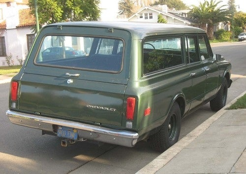 1972 Chevrolet Suburban Down On The Alameda Street