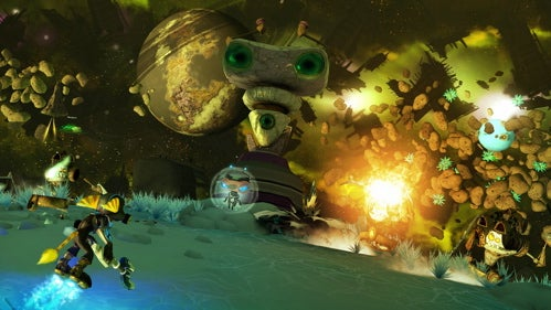 Ratchet & Clank Future: A Crack In Time Impressions: Lombax In Space