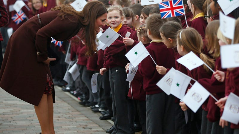 Did Kate Middleton Let It Slip That She's Having a Girl?