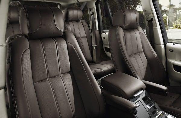 2010 Range Rover Gets World's Largest TFT Display