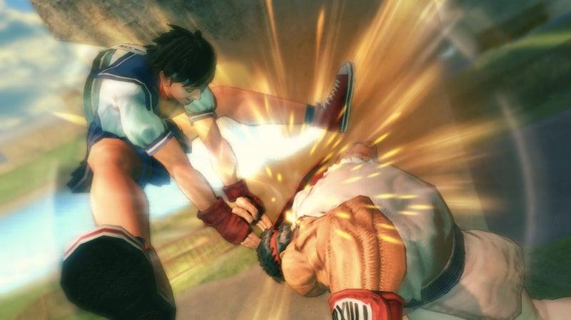 Capcom Kicks Out New Super Street Fighter IV Screens