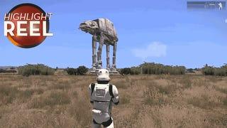 Someone Put A <i>Star Wars </i>AT-AT In <i>Arma 3</i>