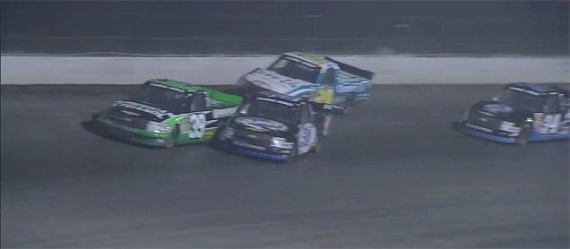 NASCAR's Amazing First Dirt Race In 43 Years: A GIFstravaganza