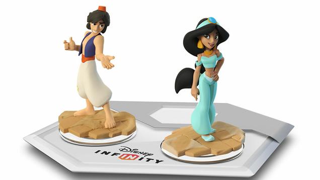 Aladdin And Princess Jasmine Are Coming To Disney Infinity