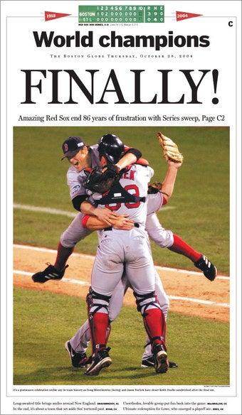 Boston Globe Runs In Big Circle