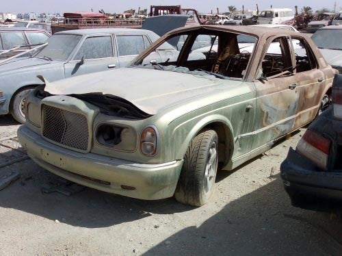 Qatar Junkyard A Treasure Trove Of Automotive Oddities
