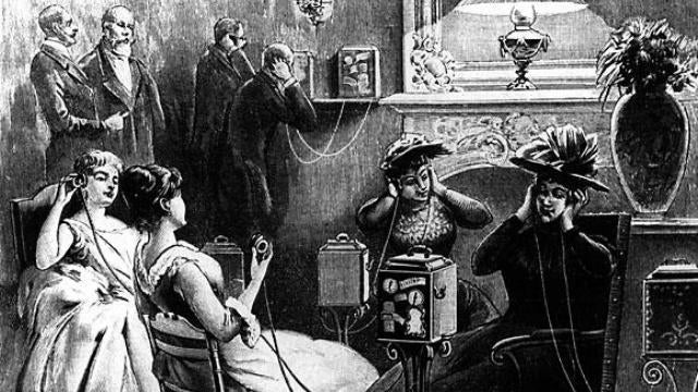 "People were ""downloading"" music from their phones way back in 1892"