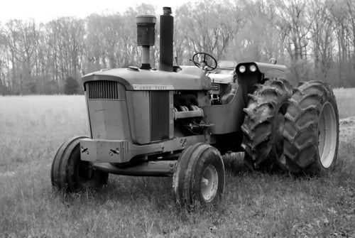 Even Black And White Photos Of John Deere Tractors Are Cool