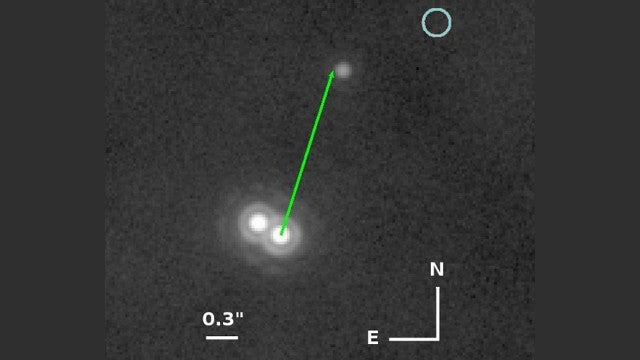 The first picture ever of a Tatooine-like binary star system. Maybe.