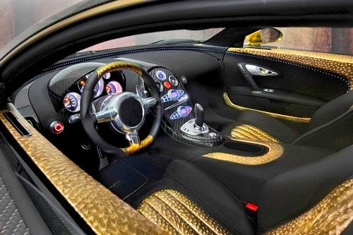 Mansory Bugatti Veyron: Over-The-Top Faux Opulence Hits New Gold Standard