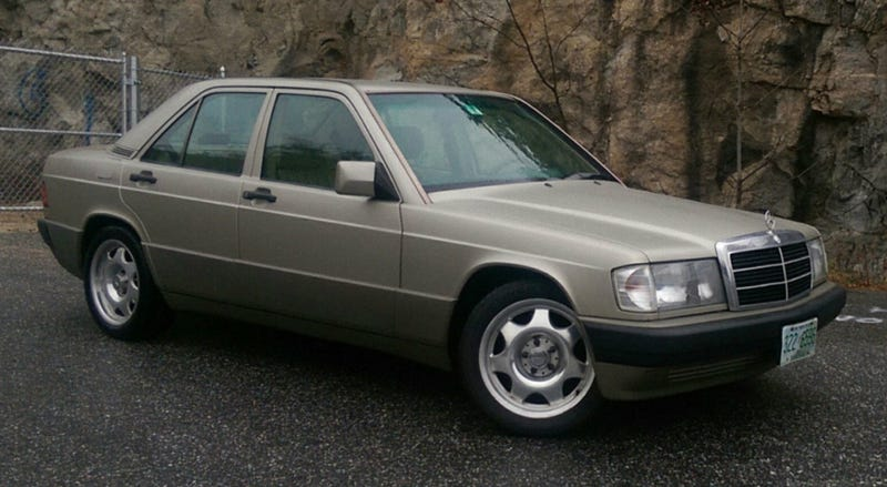 How about this custom 3 litre 1991 mercedes benz 190e for for Mercedes benz 190e 1991