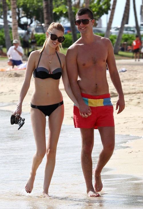 Whitney Port & Boyfriend Are A Shore Thing