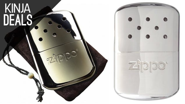 Get Ready for the Polar Vortex with This Zippo Hand Warmer
