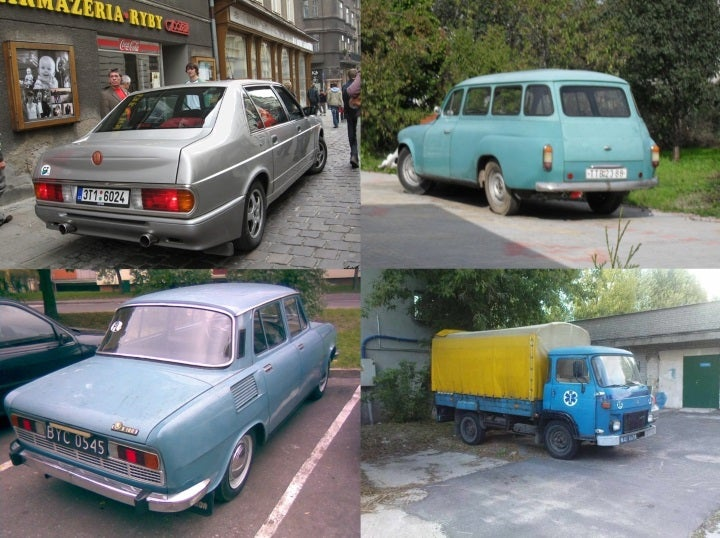 Czechoslovakian Cars Living and Dying in Poland