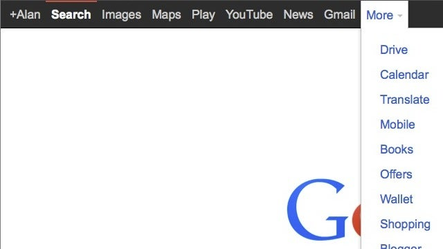 Bring Back Google's Black Menu Bar with This Custom URL