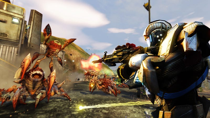 Here's a First Look at Massive Online Shooter Defiance in Action