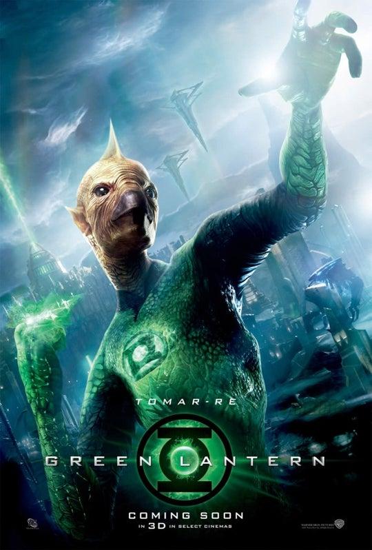 Green Lantern Tomar-Re Character Poster