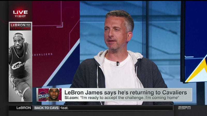 ESPN: Where Casual Fridays Extend To On-Air Talent