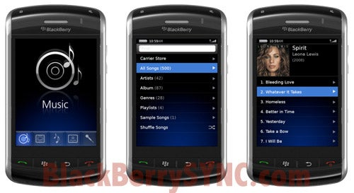 First Pics of Touchscreen BlackBerry Thunder in Action