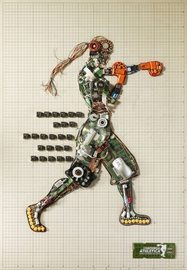 Is It Weird That I Find These Robot Girls Made from Computer Parts Attractive?