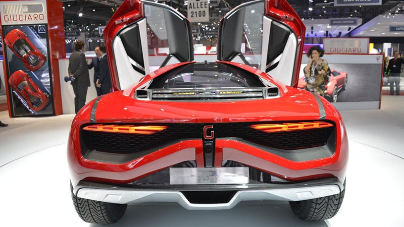 Giugiaro Parcour Finally Gives The World A Supercar Unafraid of Speed Bumps