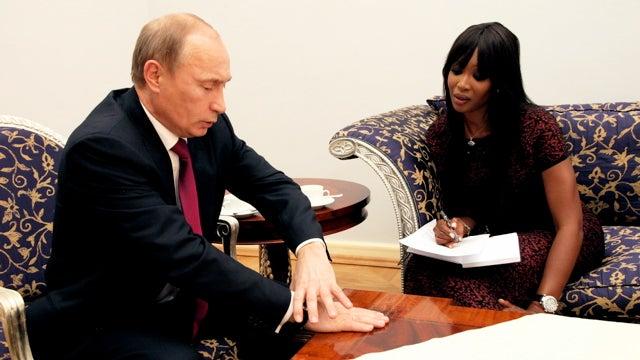 GQ Reporter Naomi Campbell Asks Vladimir Putin The Tough Questions