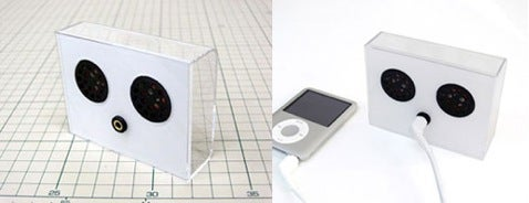 iPod Nano Speaker Kit Helps You Recycle the Packaging