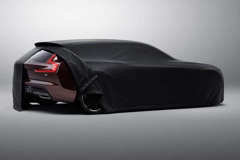 The Volvo Concept Estate Might Be A Glorious Brown Shooting Brake