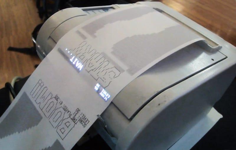 Modern Day Receipt Racer Borrows From Obsolete Printers Long Gone