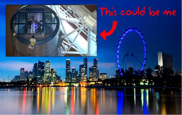 Singapore Flyer Strands 173 People for Six Hours, Makes Me Reconsider Riding It