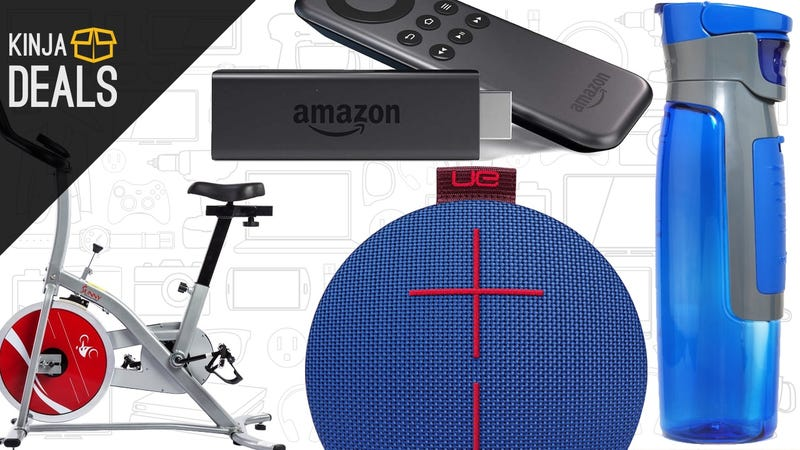 Sunday's Best Deals: Fire TV Sticks, $120 Exercise Bike, Bluetooth Speakers, and More