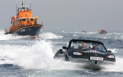 James Bond Boat Car Available Soon For Less Than You'd Expect