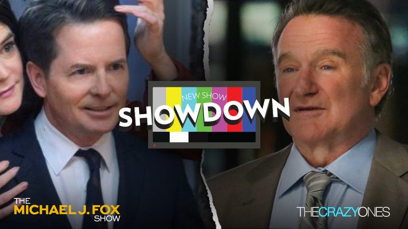 Showdowns: NBC's The Michael J. Fox Show vs. CBS' The Crazy Ones