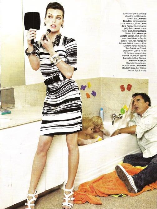 Mr. Big Plays Housewife? How Bazaar