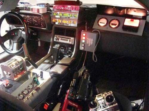 BTTF DeLorean
