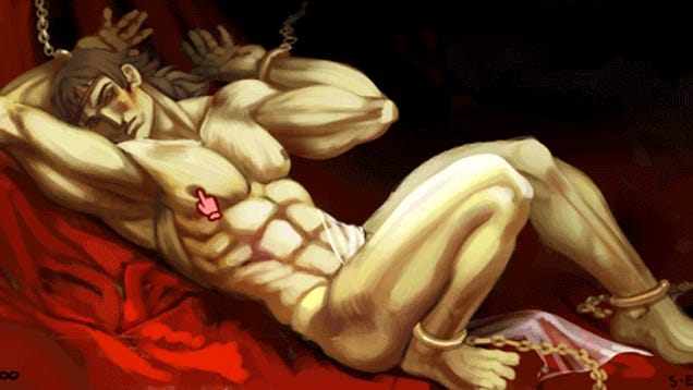 The Groping Scenes In Dragon's Crown, Parodied In One GIF