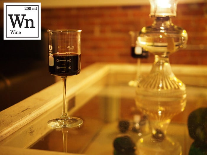 Crowdfund drinking glasses shaped like lab equipment and more
