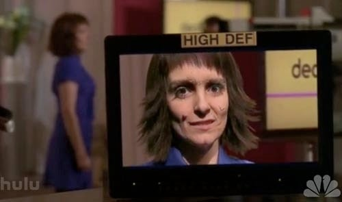 Liz Learns High-Def's A Deal Breaker On 30 Rock