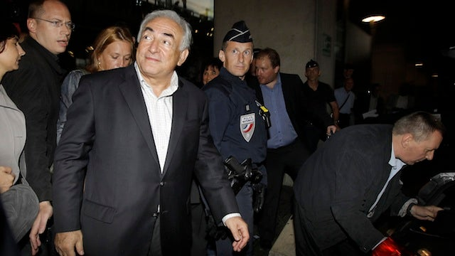 Strauss-Kahn's Legal Troubles Continue In France