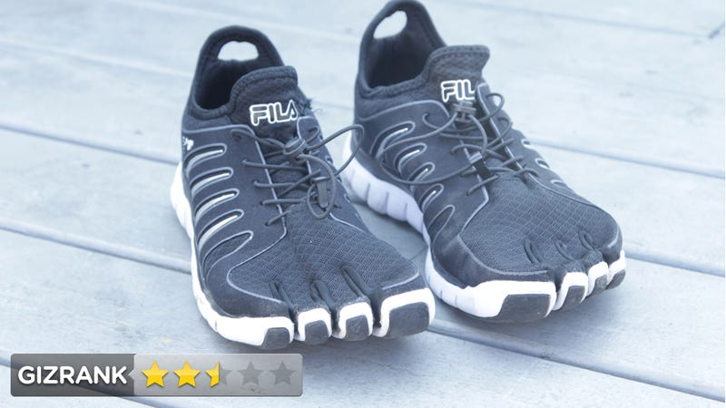 Fila Skele-toes Amp Lightning Review: A Faux-Minimalist Mutant Running Shoe