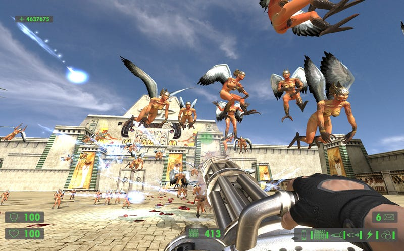 Serious Sam Slightly More Serious In HD