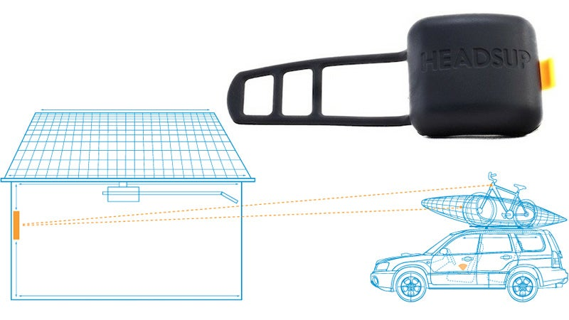 Wireless Sensor Reminds You There's Stuff On Your Car Before You Drive Into a Garage and Destroy It