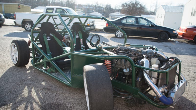 I Drove An Ariel Atom Killer Built From Spare Parts
