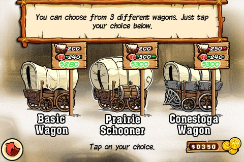Oregon Trail iPhone Game Hands On