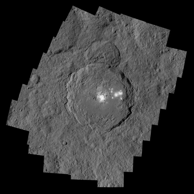 These Are the Most Detailed Images Yet of the Bright Spots on Ceres