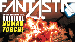 Fantastic Four #9, or Orange (Rocky Skin) is the New Black