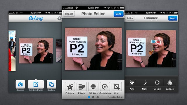 Aviary Adds a Comprehensive Set of Photo Editing Tools to Your Smartphone