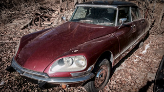 You Can Save This Extremely Cheap Citroën DS From Rusting In The Woods