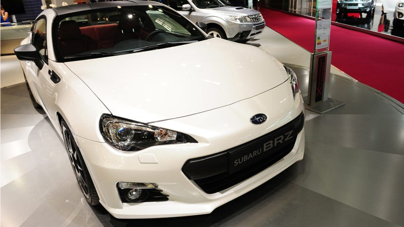 The Subaru BRZ Not-STI Looks Exactly Like The Toyota GT 86 TRD