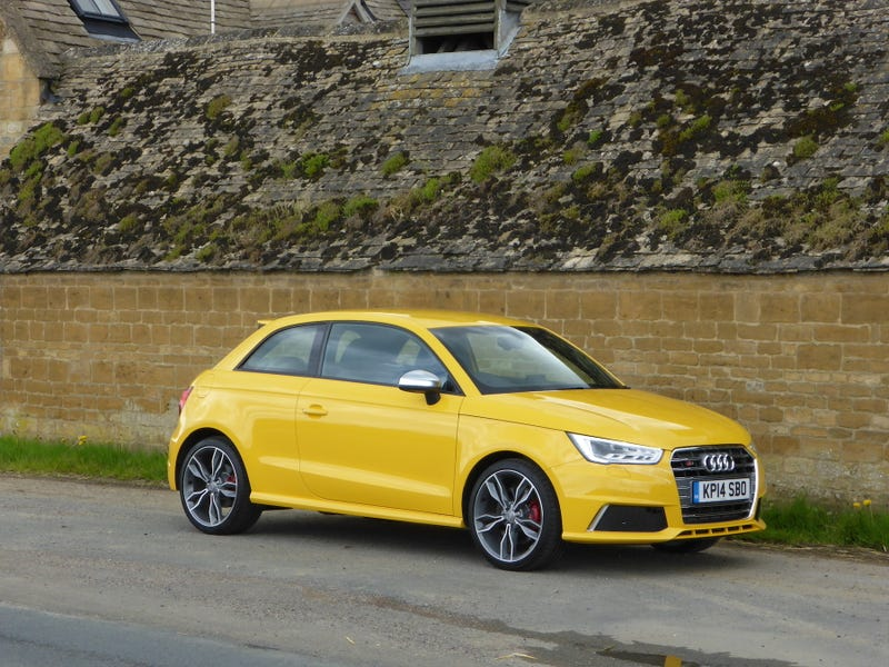 Today I Drove The New Audi S1, And It Ain't Coming To America